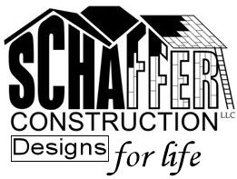 Schaffer Construction - Designs for Life Logo - Home improvement, Remodeling, Aging in Place Modifications