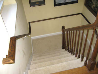 Custom Hand Rails For Stairs