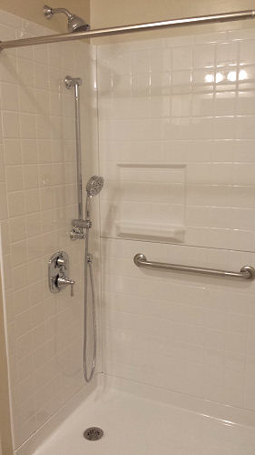 Shower Rails