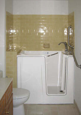 Walk In Tubs By Schaffer Construction For Aging In Place